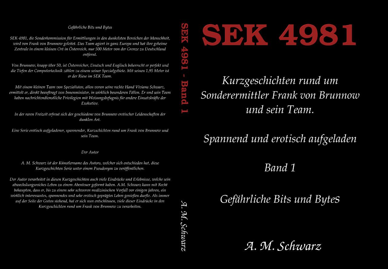 Buchtipp: SEK 4981 – Band 1 – Gefährliche Bits und Bytes