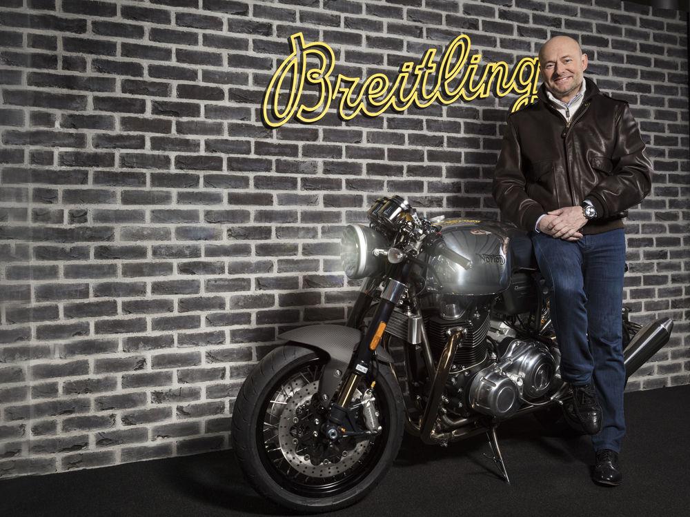 Breitling und Norton Motorcycles werden Partner