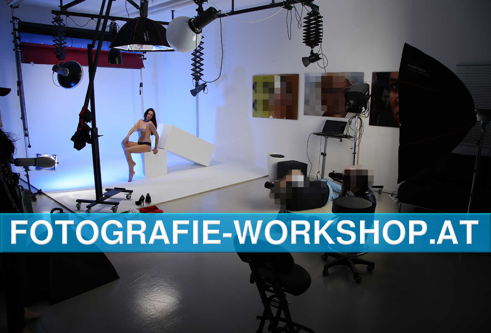 Fotografie: Workshops und Shootings im Profi Studio