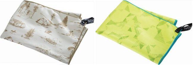 Das PackTowl® Personal kommt jetzt in neuen Designs und Farbvarianten