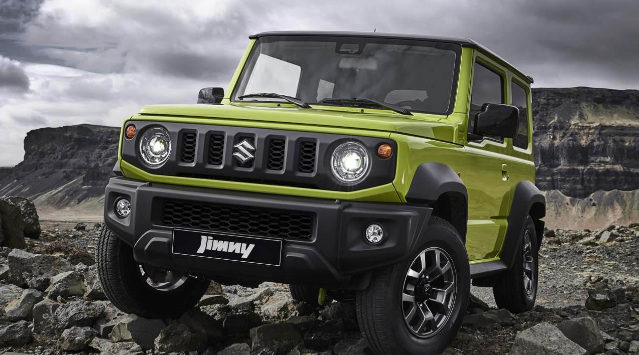 Der neue Suzuki Jimny startet bei 17.915 Euro